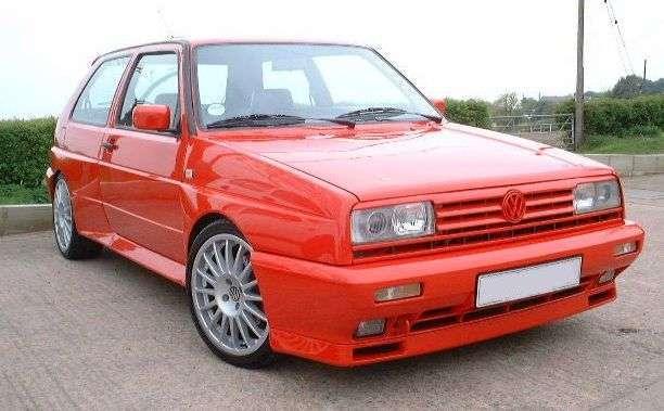 PARAGOLPES DELANTERO VW GOLF II RALLYE