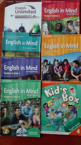 LIBROS DE INGLÉS CAMBRIDGE
