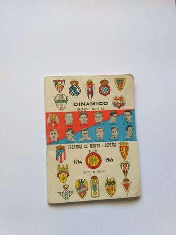 Calendario Del Ano 1965.Antiguo Calendario De Liga Ano 1964 65