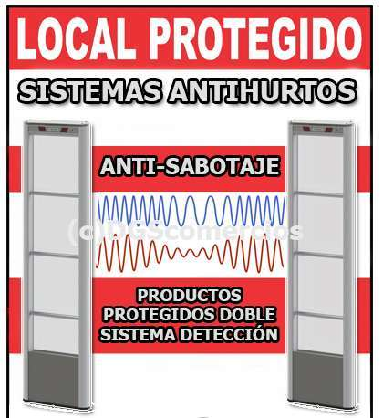 SISTEMAS ANTIHURTO TIENDAS INFORMATICA! - foto 2