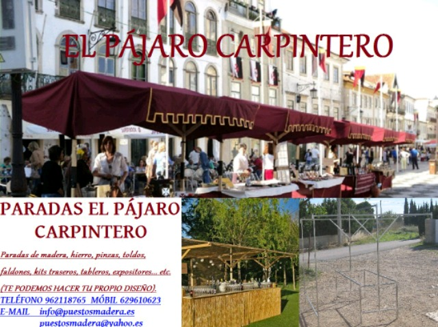 PARADAS Y PUESTOS MERCADO Y FERIA - foto 7