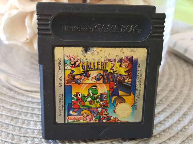 GAME WATCH GALLERY 2 GAME BOY
