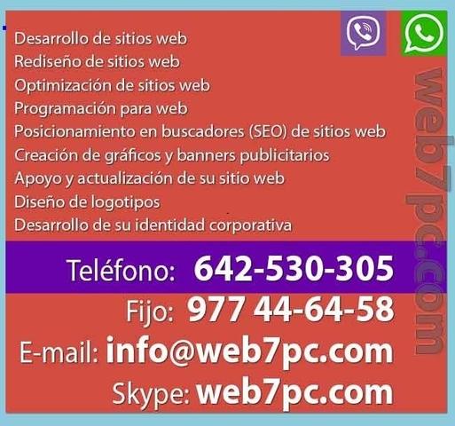 QUIERO CREAR UNA PAGINA WEB EN MADRID