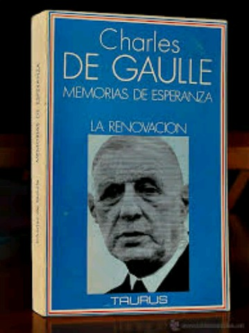 CHARLES DE GAULLE.  MEMORIAS.  RENOVACIÓN - foto 1