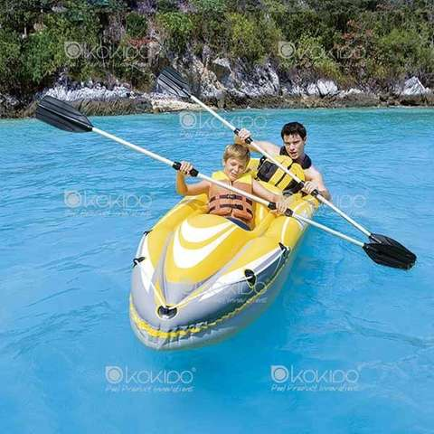 BARCA HINCHABLE BESTWAY KAYAK HYDROFORCE - foto 1