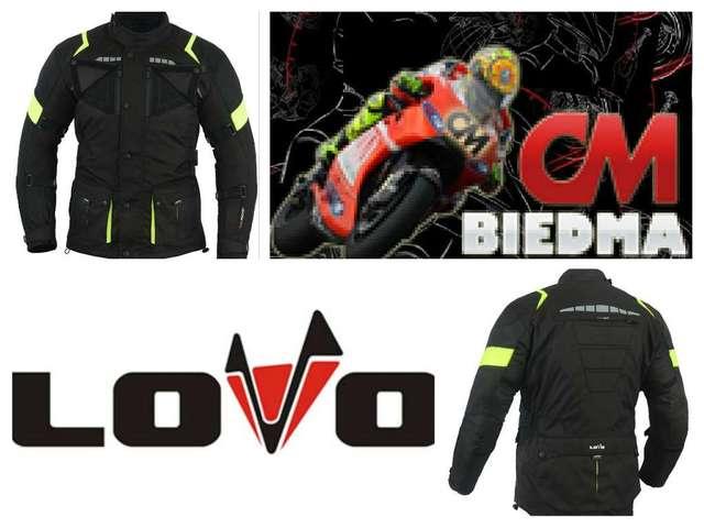 LOVO Chaqueta 3//4 para moto 4XL Hombre