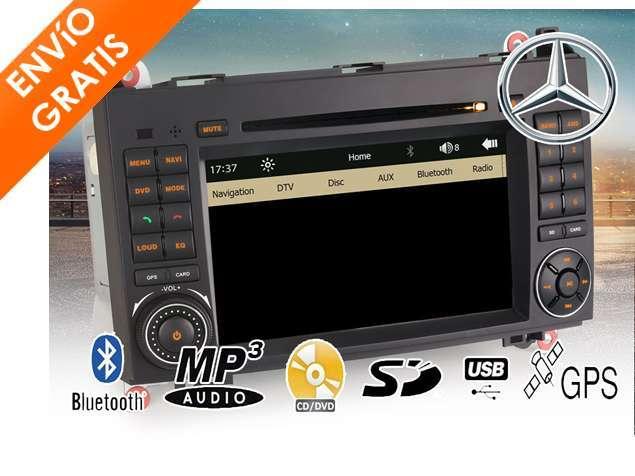 RADIO GPS BLUETOOTH TACTIL MERCEDES VITO