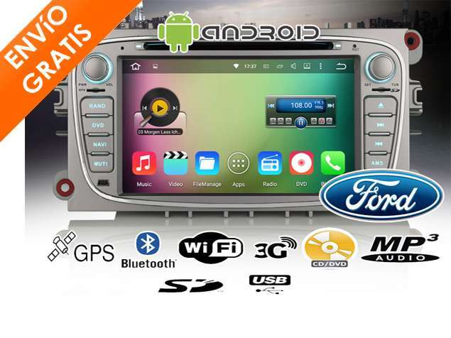 RADIO GPS WIFI ANDROID FOCUS MONDEO SMAX