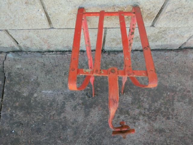 Antiguo Portabultos Bicicleta Varillas