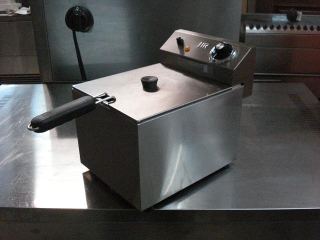 FREIDORA ELECTRICA 6 LITROS - MARCA HR - foto 3