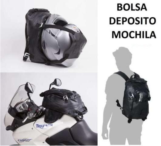 9513bb1f8ad Accesorios para motos de segunda mano mochila iman. Cascos, monos,  cazadoras, botas, piezas de repuesto,.