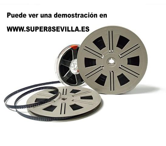 CONVERSIÓN DE SUPER8 A DVD O DIGITAL