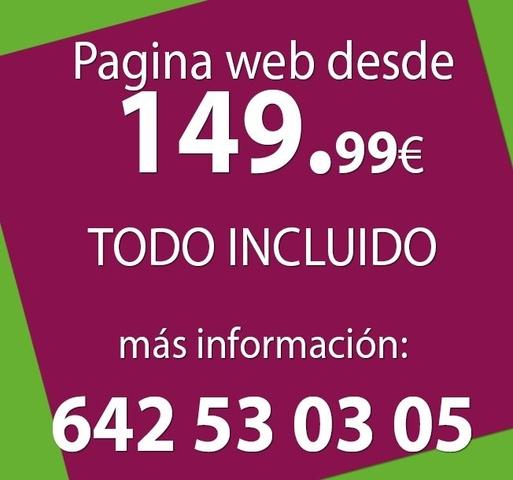 CREAMOS TU PAGINA WEB EN OURENSE