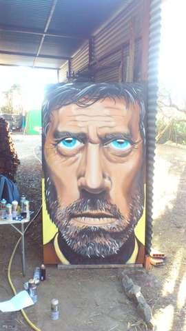 GRAFITERO ARTISTA MURAL - foto 4