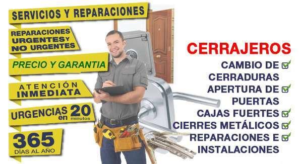 CERRAJEROS SUPER URGENTES 24 HORAS