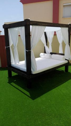 cama balinesa chill out
