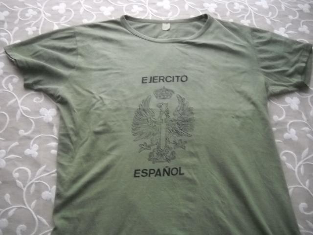 Camiseta Ejercito Español Modelo Antiguo