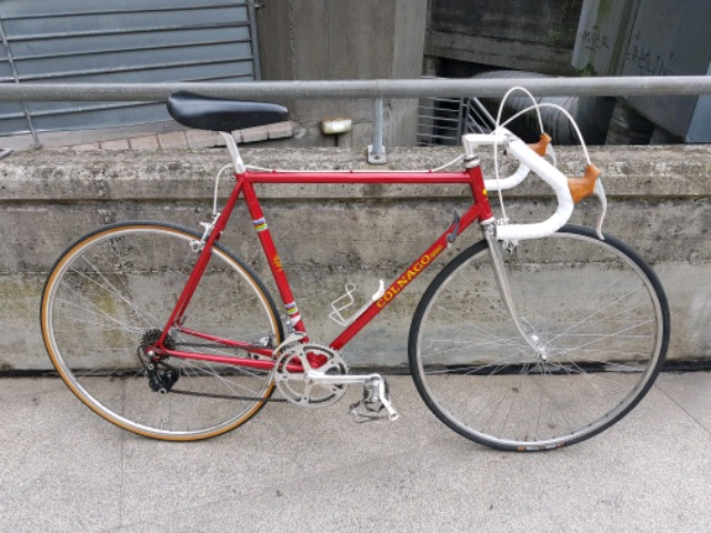 Bicicleta Ciclista  Colnago