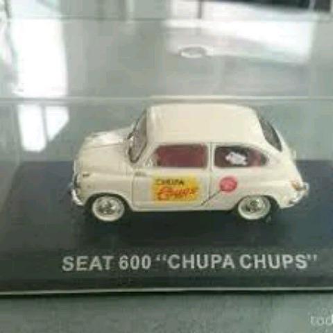 SEAT 600 CHUPA CHUPS ALTAYA F. ANTAÑO