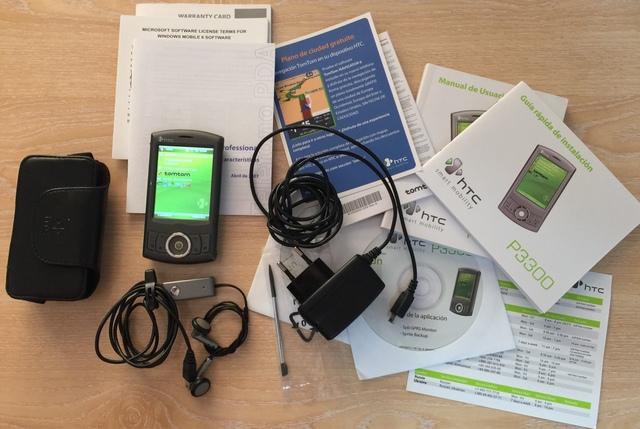 HTC P3300 GPS TOM TOM EU