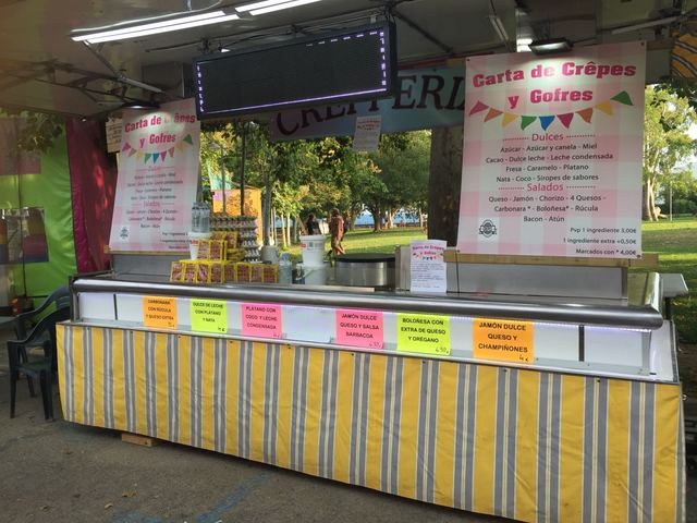 FOOD TRUCK TIPO CREPERIA