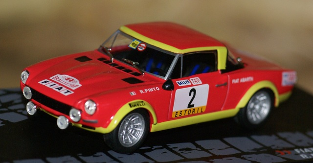 Fiat 124 Abarth Rallye De Portugal 1974