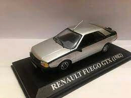 Renault Fuego Altaya Nqc 80. Esc 1:43