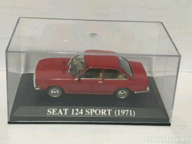 Seat 124 Sport Nq Coches Altaya,  1:43