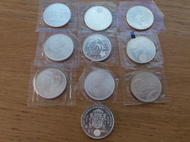 Colección De Monedas De 12  De Plata Sc.