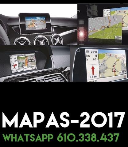 MAPAS 2017 DVD CD SD NAVEGADORES