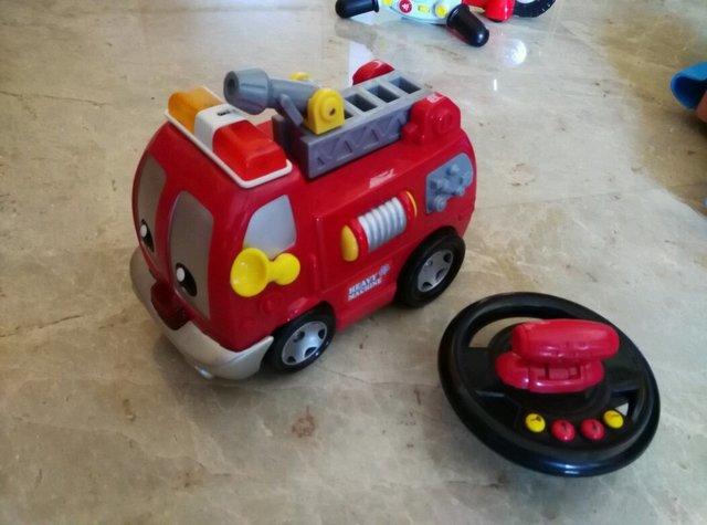 CAMION BOMBEROS RADIO CONTROL INFANTIL