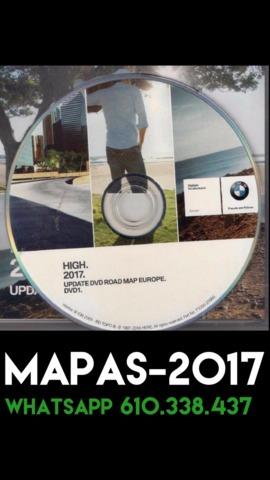 DVD GPS BMW 2017 HIGH MK4 RADARES EURO