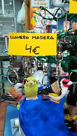 LLAVERO DE JILGUERO, VERDERON O JILGUERO