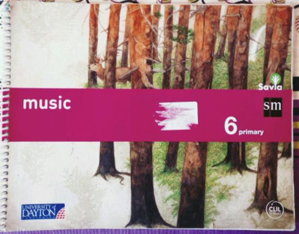 LIBRO MUSICA INGLES 6 PRIMARIA.