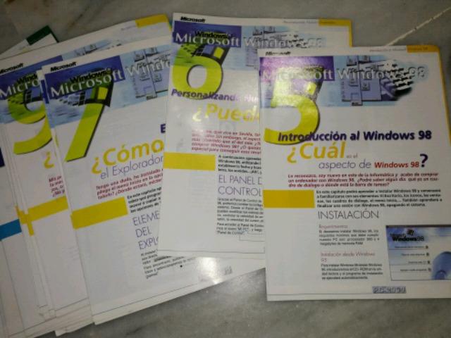 36 FASCICULOS DE  MICROSOFT WINDOWS 98 - foto 2