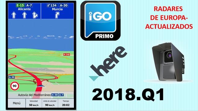 GPS IGO PRIMO TRUCK MAPAS 2017 Q2