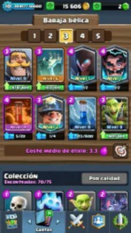 CLASH ROYALE NIVEL 11 ARENA 10