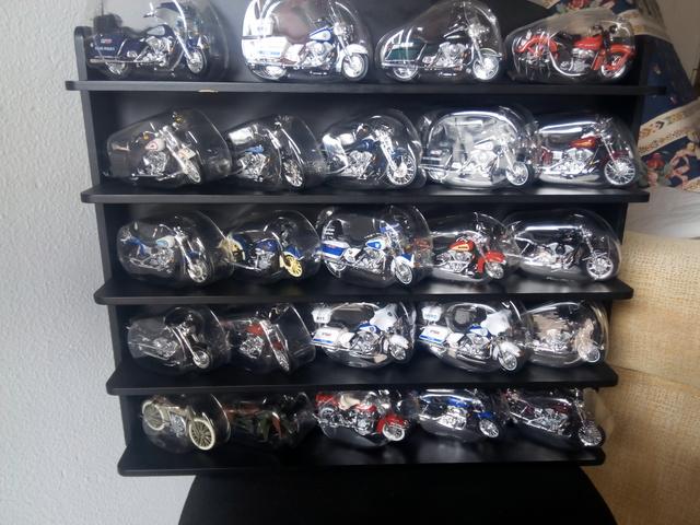 Colección Miniaturas Harley Davidson