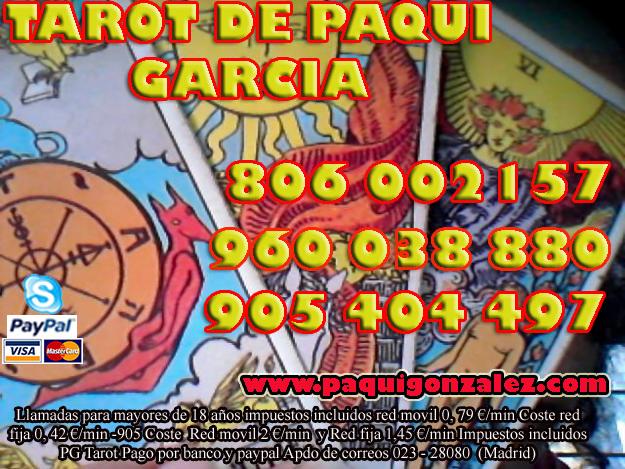 TAROT DE PAQUI GARCIA, VIDENTE MEDIUM