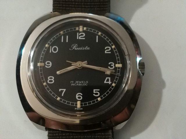 Reloj Militar Precista Carga Manual