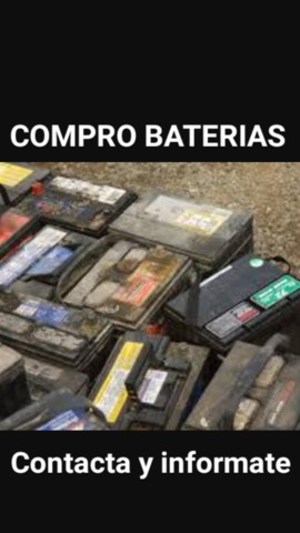 COMPRO BATERIAS Y CHATARRA