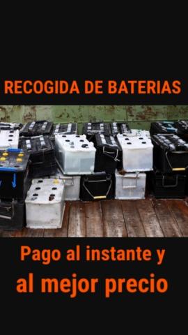 COMPRO BATERIAS CHATARRA Y METALES COCHE