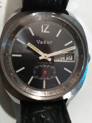 Precioso Reloj Vadur Vintage Cuerda
