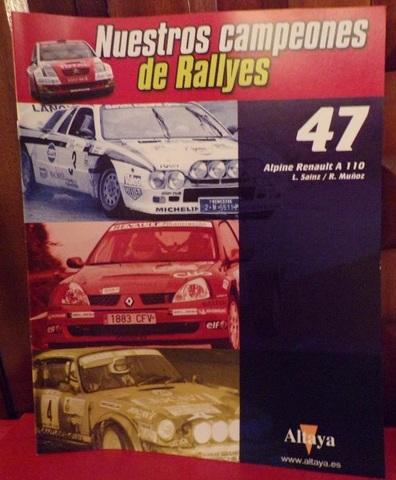 Fasciculo N 47 Alpine Renault A110 L.Sai