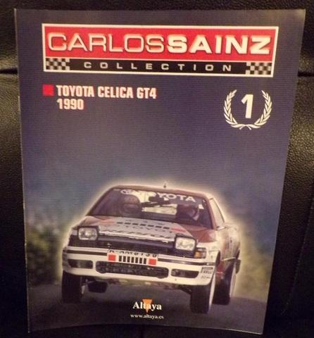 Fasciculo Nº01 Toyota Celica Gt4 1990 C.