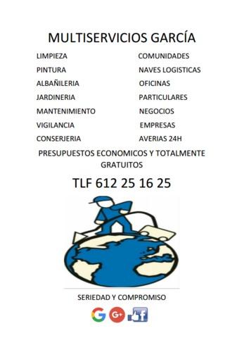 MULTISERVICIOS GARCÍA - foto 1