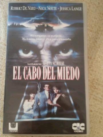 PELÍCULA VHS EL CABO DEL MIEDO