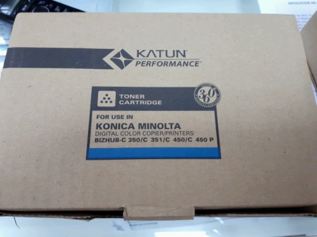 TONER IMPRESORA KONICA MINOLTA C350 - foto 4