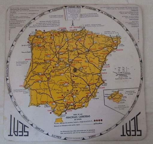 Mil Anuncios Com Mapa Espana Marcador Distancias Seat