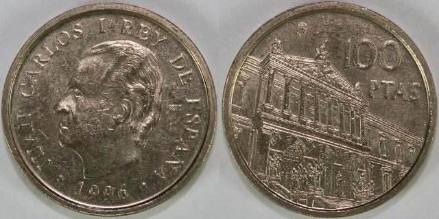 100 Pesetas Año: 1996 100